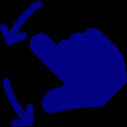 2 fingers next icon