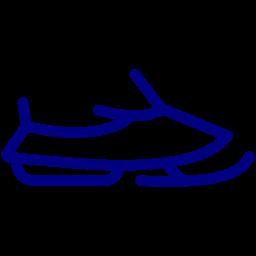 snow jet icon