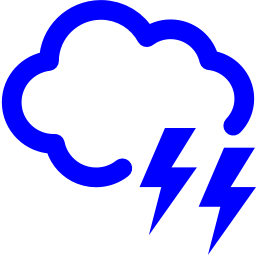 cloud lighting icon