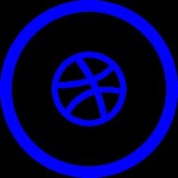dribbble 2 icon