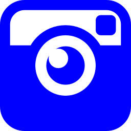 Free Blue Instagram Icon - Download Blue Instagram Icon