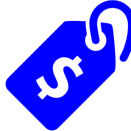 Free Blue Price Icon Download Blue Price Icon