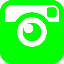 Free Lime Instagram Icon Download Lime Instagram Icon