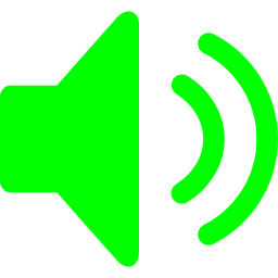 Free Lime Speaker Icon Download Lime Speaker Icon
