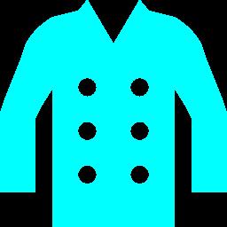 Free Aqua Coat Icon Download Aqua Coat Icon