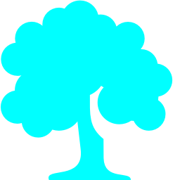 Free Aqua Deciduous Tree Icon Download Aqua Deciduous Tree Icon