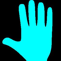 Free Aqua Whole Hand Icon Download Aqua Whole Hand Icon