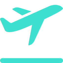 airplane takeoff icon