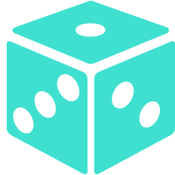 Free Turquoise Dice Icon - Download Turquoise Dice Icon