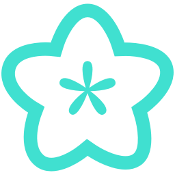 Free Turquoise Flower Icon Download Turquoise Flower Icon