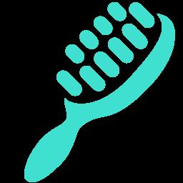 hair brush icon