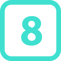 number 8 icon