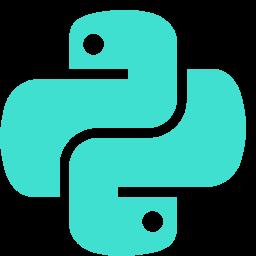 Free Turquoise Python Icon Download Turquoise Python Icon