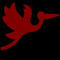flying stork icon