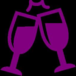 Free Purple Champagne Icon Download Purple Champagne Icon