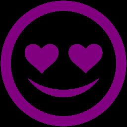 Free Purple In Love Icon Download Purple In Love Icon