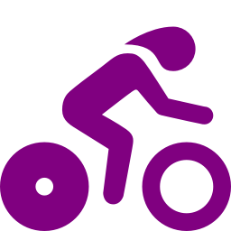 time trial biking icon