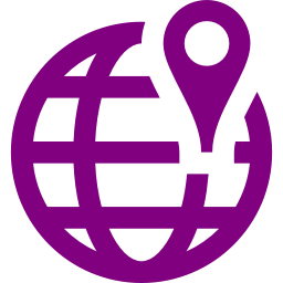worldwide location icon