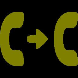 call transfer icon
