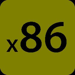 x86 icon