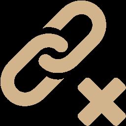delete link icon