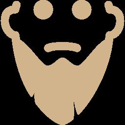 long beard icon