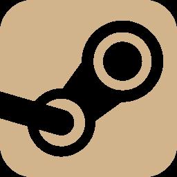 Free Tan Steam Icon Download Tan Steam Icon