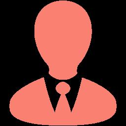 Free Salmon Businessman Icon Download Salmon Businessman Icon