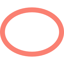 ellipse stroked icon