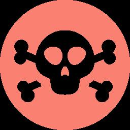 self destruct button icon
