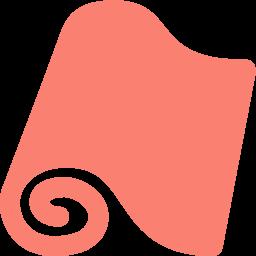 wallpaper roll icon