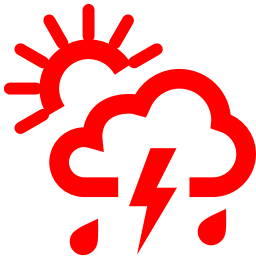 chance of storm icon