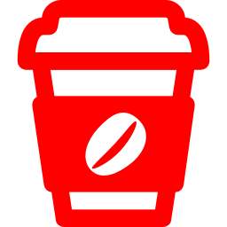 Free Red Coffee Icon Download Red Coffee Icon