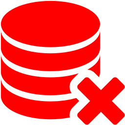 delete database icon