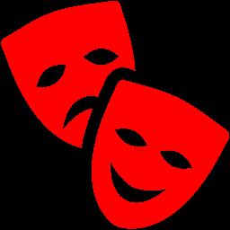 theatre masks icon