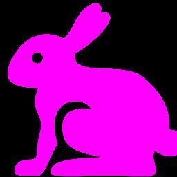 easter rabbit icon