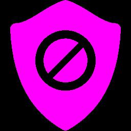 restriction shield icon