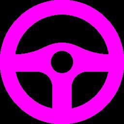 steering wheel icon