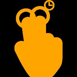 2 fingers copy icon