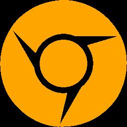 Free Orange Google Chrome Icon Download Orange Google Chrome Icon