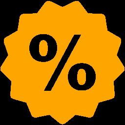 Free Orange Sale Icon Download Orange Sale Icon