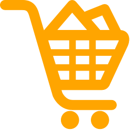 shoping cart filled icon