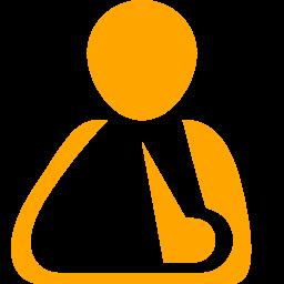 triangular bandage icon