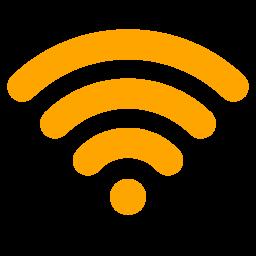 Free Orange Wifi Icon - Download Orange Wifi Icon