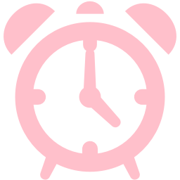 Free Pink Alarm Clock Icon Download Pink Alarm Clock Icon