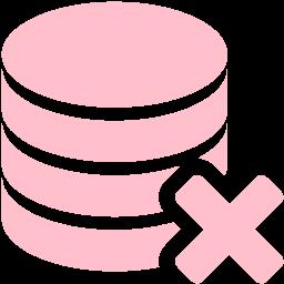 delete database icon