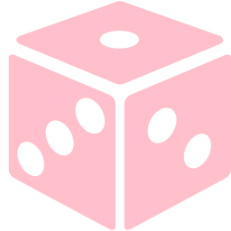 Free Pink Dice Icon Download Pink Dice Icon