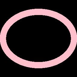 ellipse stroked icon