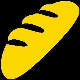 Free Gold Bread Icon Download Gold Bread Icon