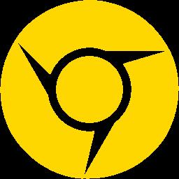 Free Gold Google Chrome Icon - Download Gold Google Chrome Icon